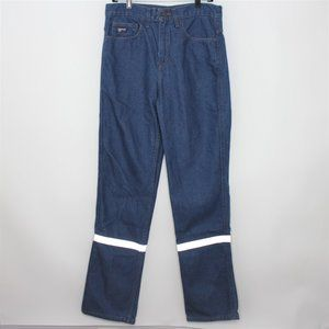 Lapco FR Flame Fire Resistant Reflector Jeans C584